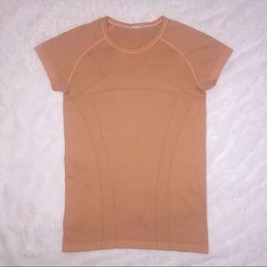 IVIVVA Girls Fly Tech Short Sleeve Shirt Orange 14